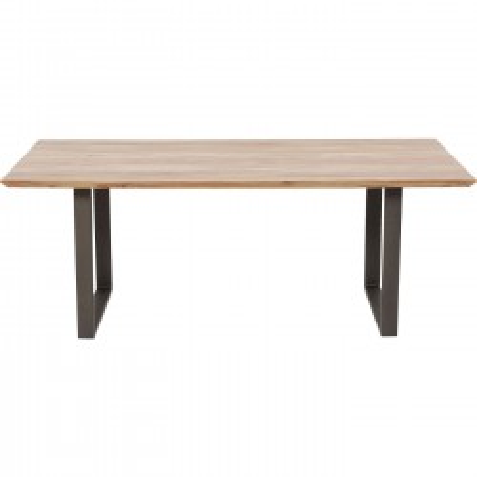 Table Symphony acacia acier 200x100cm Kare Design