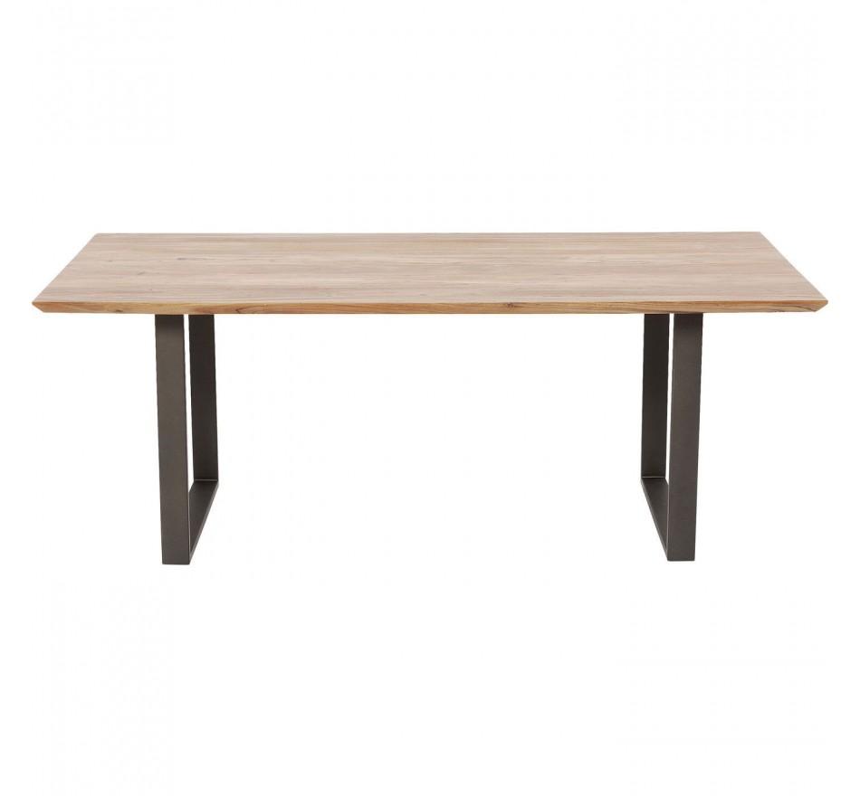 Table Symphony acier 200x100cm Kare Design