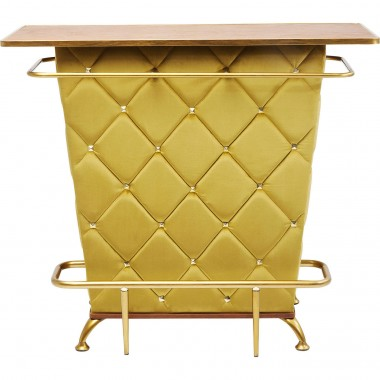 Bar Lady Rock velours jaune Kare Design