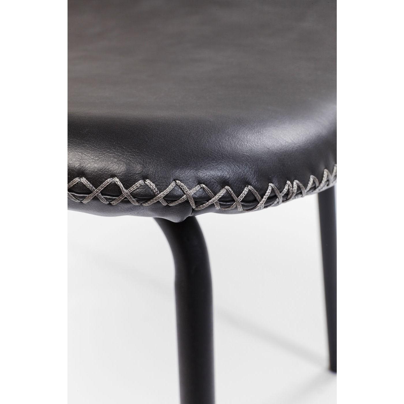 Chaise Barber noire Kare Design