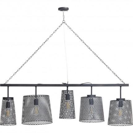 Suspension Gorgeous noire mat 5 Kare Design