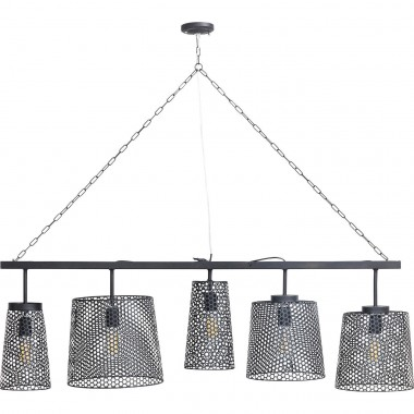Suspension Gorgeous noire mat 5 Kare Design