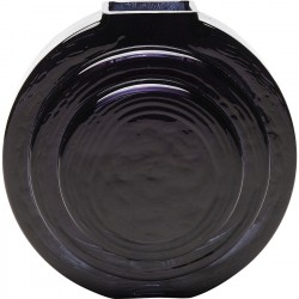Vase Las Vegas noir rond Kare Design