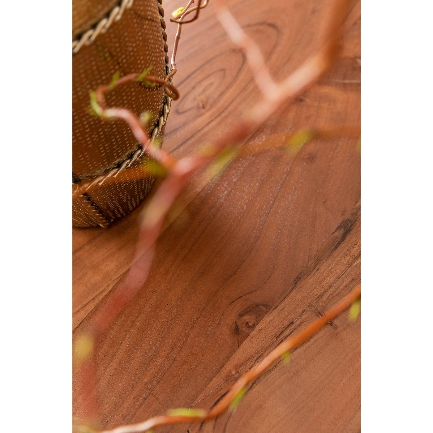 Table Symphony acacia noire 200x100cm Kare Design