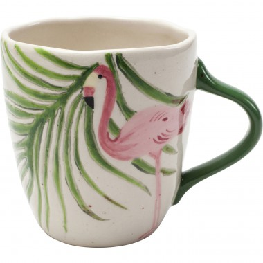 Mugs Tropical flamant rose set de 4 Kare Design