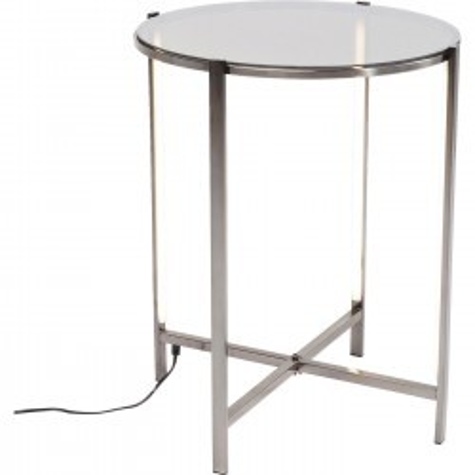 Table d'appoint Haight Ashbury LED 44cm Kare Design
