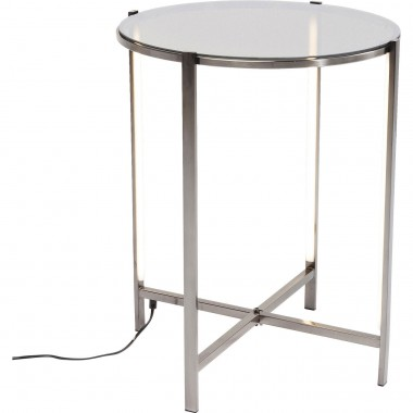 Table d'appoint Haight Ashbury LED 44cm Kare Design