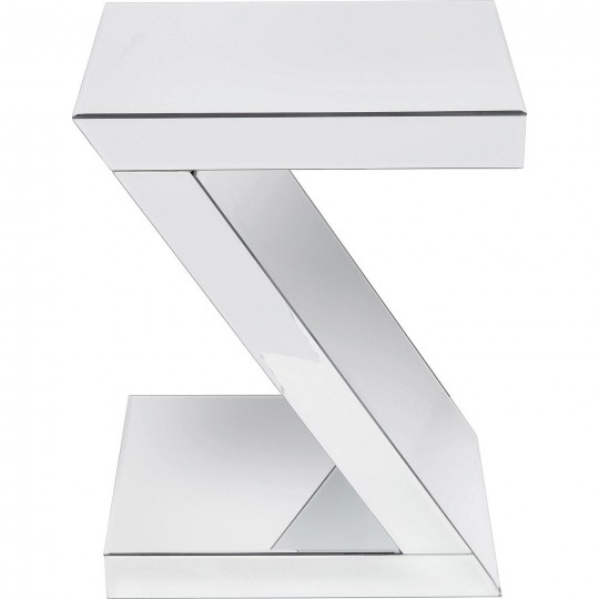 Table d'appoint Luxury Z argent Kare Design