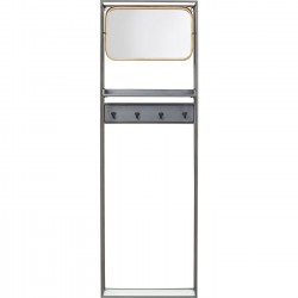 Portemanteau avec miroir La Gomera 165cm Kare Design