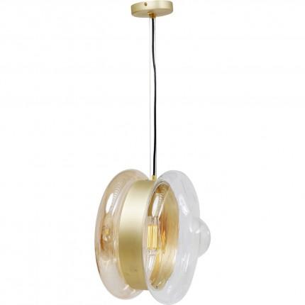 Suspension Jojo Visible dorée Kare Design
