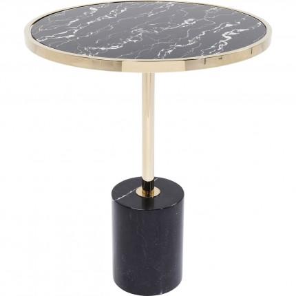 Table d'appoint San Remo noire 46cm Kare Design