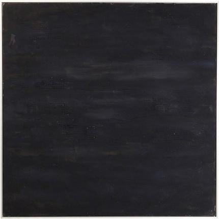 Peinture à l'huile Abstract Deep noire 80x80cm Kare Design