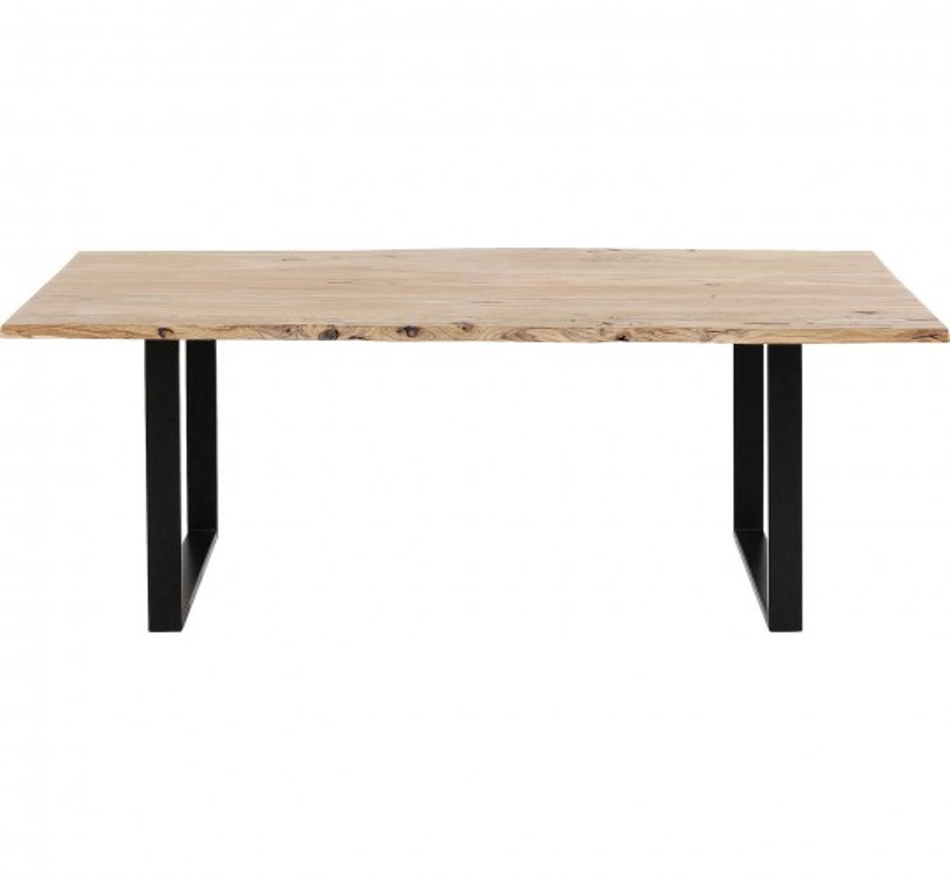 Table Harmony noire 200x100cm Kare Design