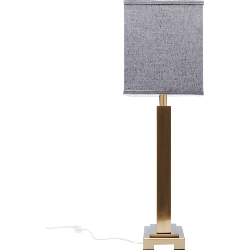 De Kare Charleston Table Design Gris Marbre Lampe UzMGLqVpS