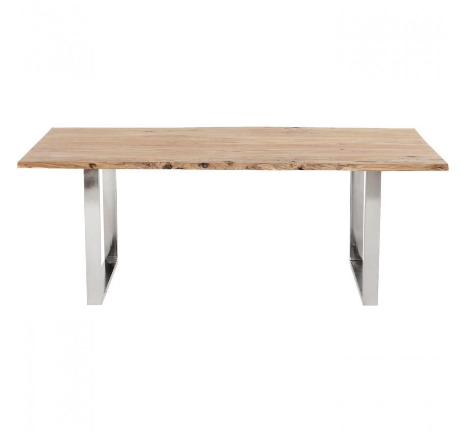 Table Harmony chrome 200x100cm Kare Design