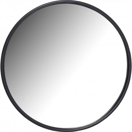 Miroir Célébration noir mat 80cm Kare Design