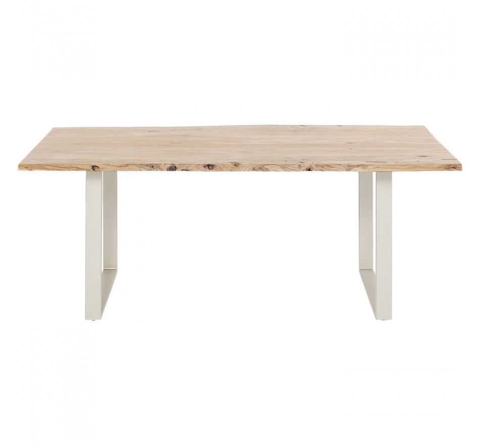 Table Harmony argent 200x100cm Kare Design