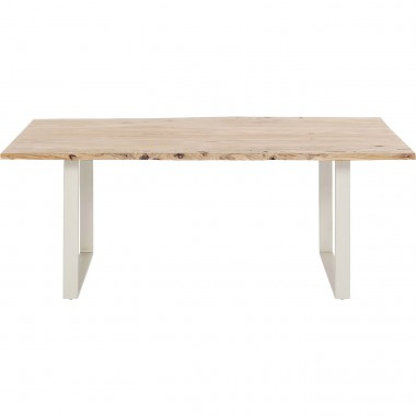 Table Harmony argent 200x100cm Kare Design