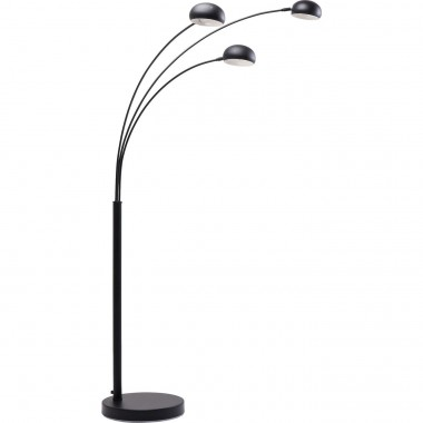 Lampadaire Three Fingers noir mat Kare Design