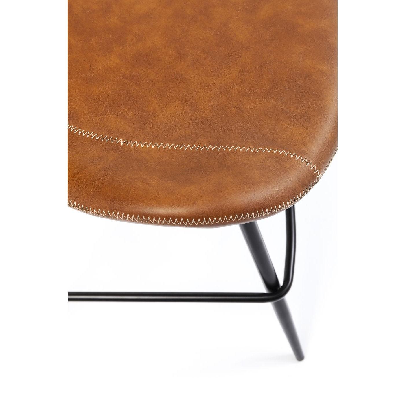 Tabouret de bar Rusty marron Kare Design