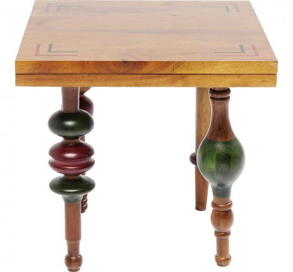Table d'appoint Slide Rule 45x45cm Kare Design