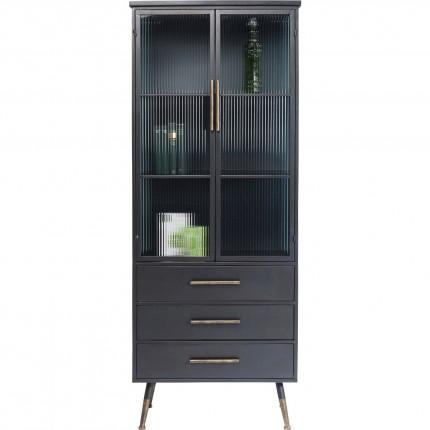 Vitrine La Gomera 2 portes 3 tiroirs Kare Design