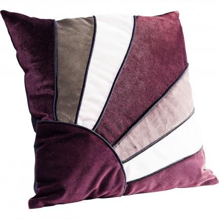 Coussin Sunlight violet 45x45cm Kare Design