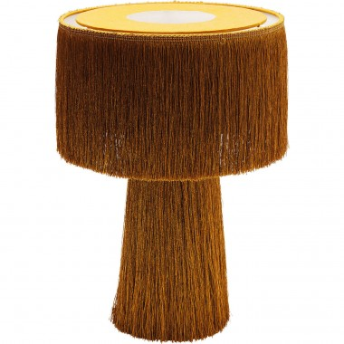 Lampe de table Fringes orange Kare Design