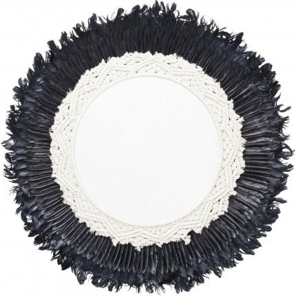 Miroir La Pluma 80cm Kare Design