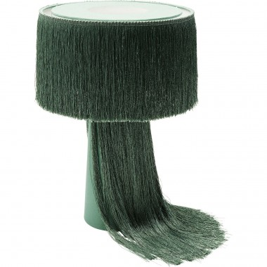 Lampe de table Fringes verte Kare Design