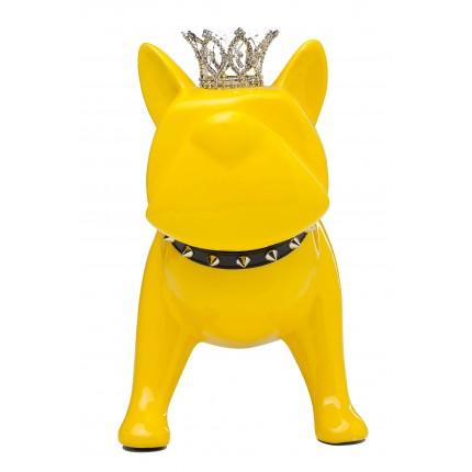 Tirelire King Dog XL jaune Kare Design