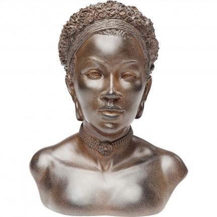 Déco buste femme africaine foulard Kare Design