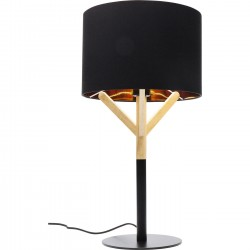 Lampe de table Scandi noire Kare Design
