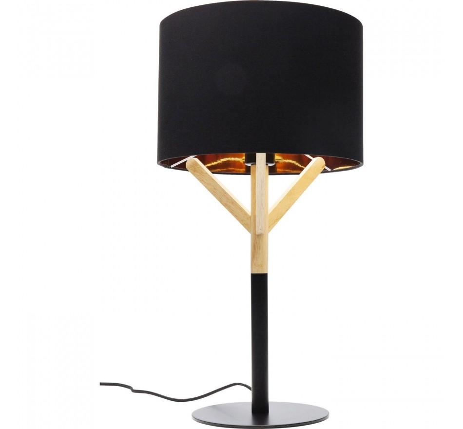 Lampe de table Scandi noire Kare Design