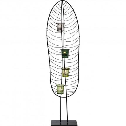 Photophore feuille 86cm Kare Design