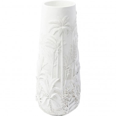 Vase Jungle blanc 83cm Kare Design