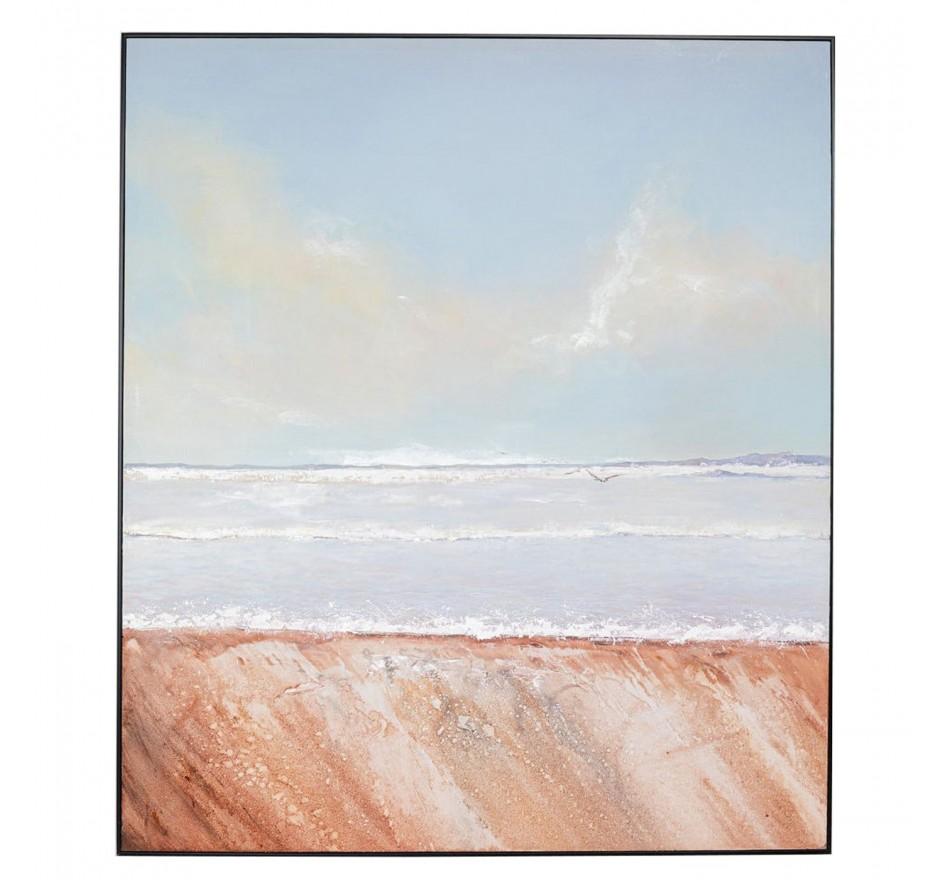 Peinture à l'huile Frame Beach View 150x130cm Kare Design