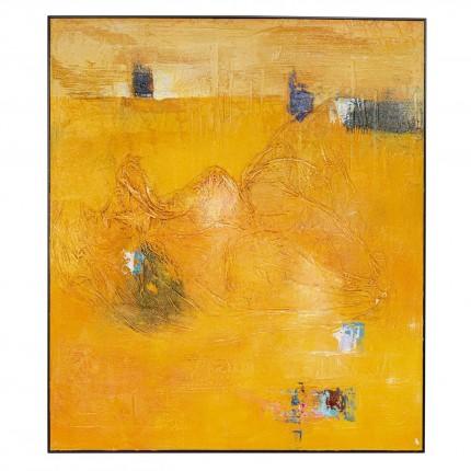 Peinture à l'huile Frame Art Crater 150x130cm Kare Design