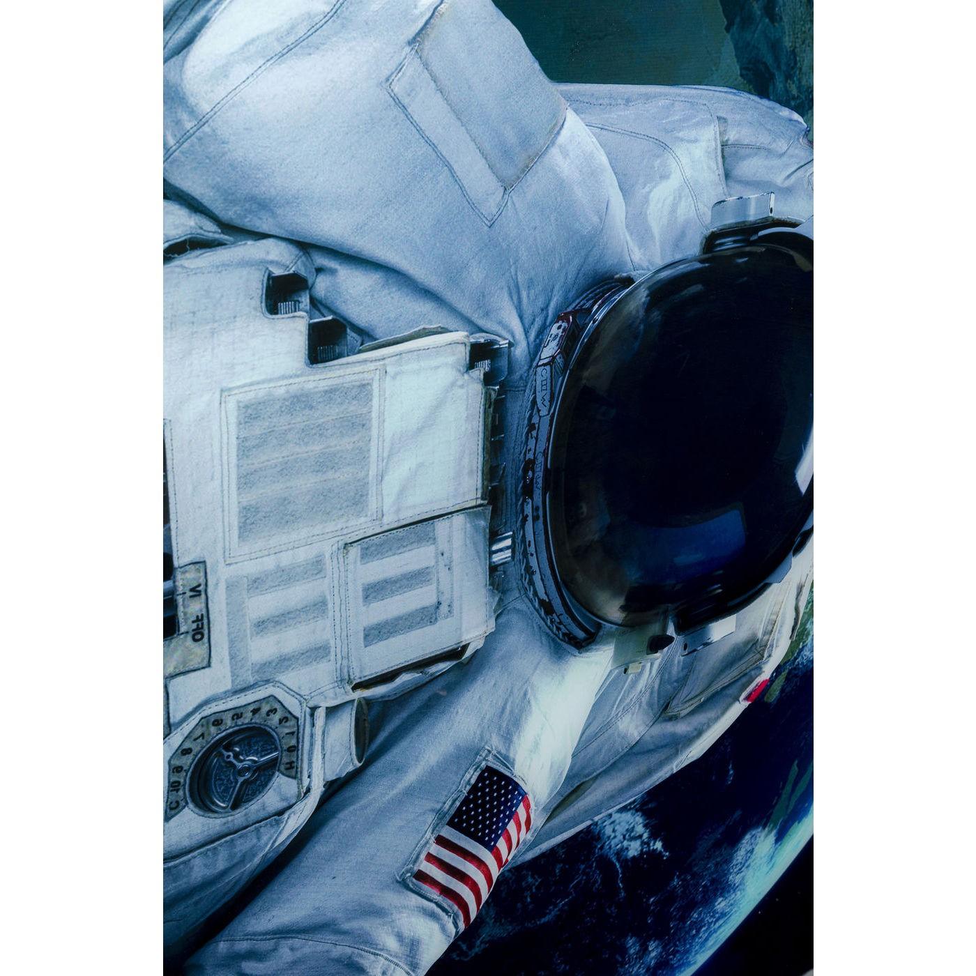Tableau en verre Astronaute américain 120x180cm Kare Design
