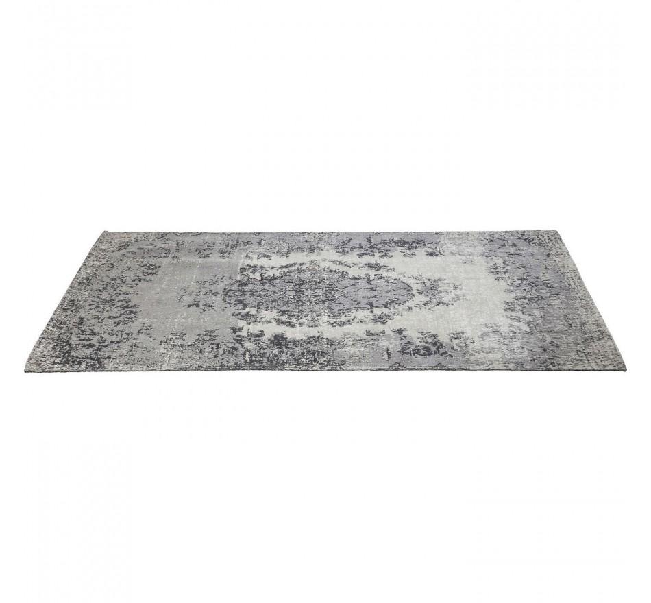 Tapis Kelim Pop gris 200x140cm Kare Design