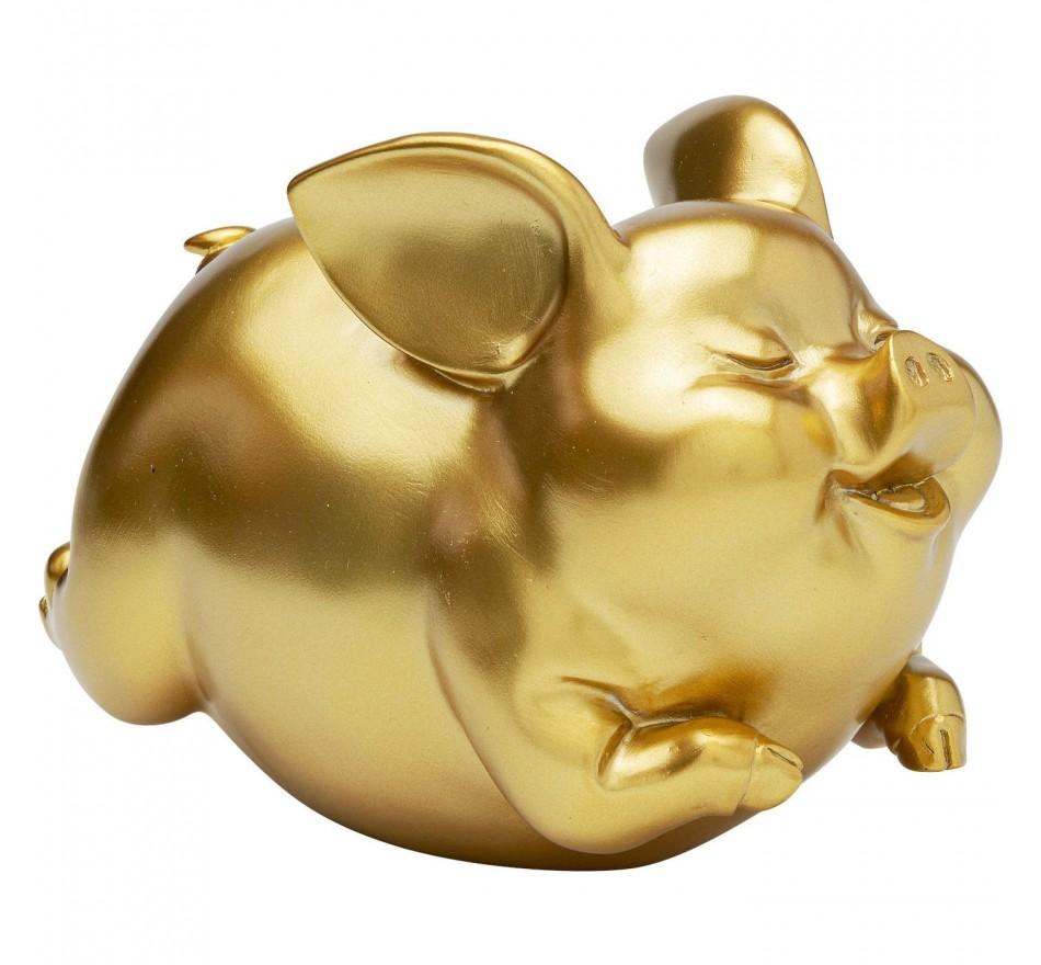 Tirelire Cochon doré Kare Design