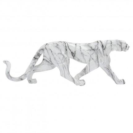 Déco Léopard effet marbre XL 95cm Kare Design
