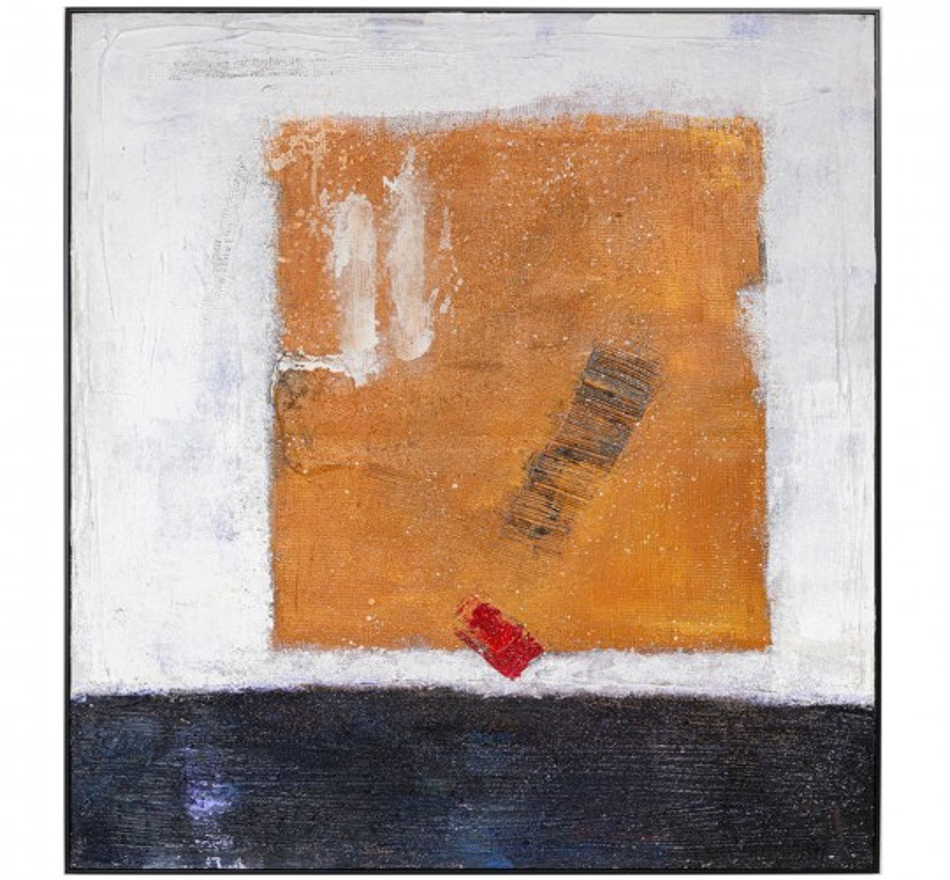 Peinture à l'huile Frame Art Symbol 150x130cm Kare Design