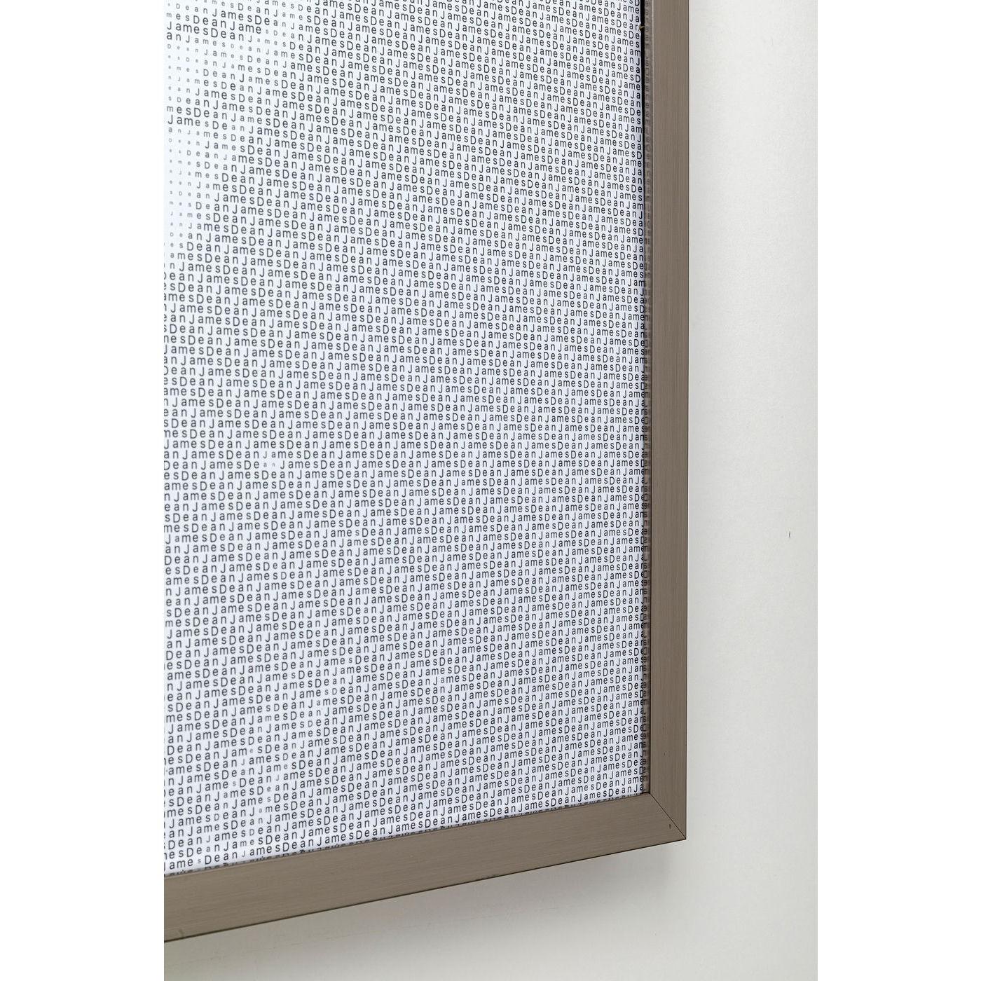 Tableau Frame Idol Pixel James Dean 104x79cm Kare Design