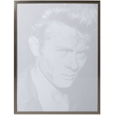Tableau Frame Idol Pixel James Dean 79x104cm Kare Design