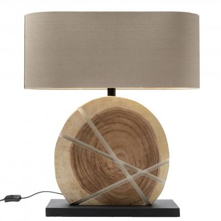 Lampe de table Geometrix blanche Kare Design