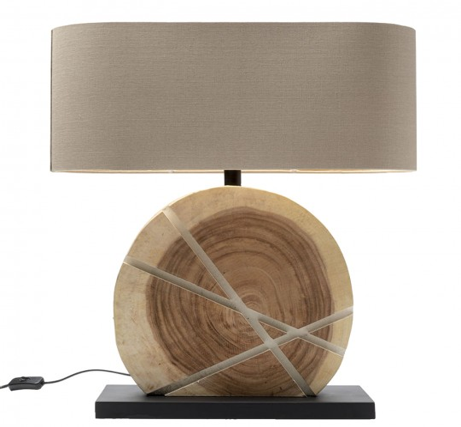 Lampe de table Geometrix blanc Kare Design