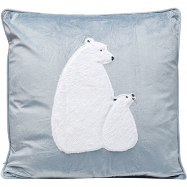 Coussin ours blancs 50x28cm Kare Design