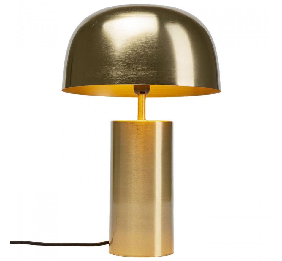 Lampe de table Loungy dorée Kare Design