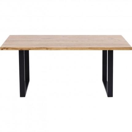 Table Jackie chêne noire 160x80cm Kare Design